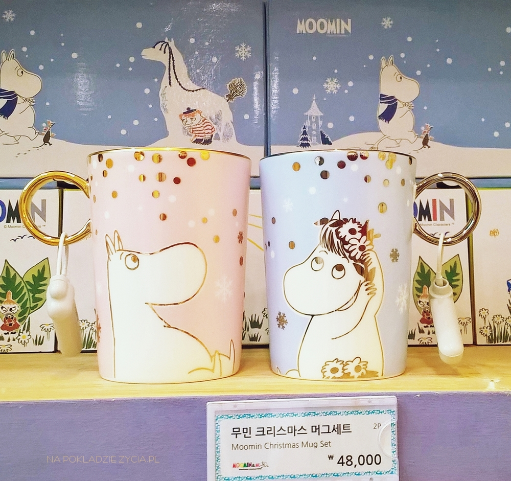 Kawiarnia Muminków w Seulu